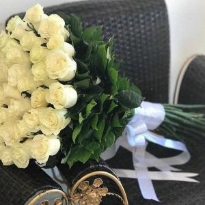 Роза 51 штук 90 см