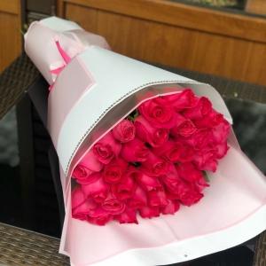 31 штук Голландских Роз 80 см